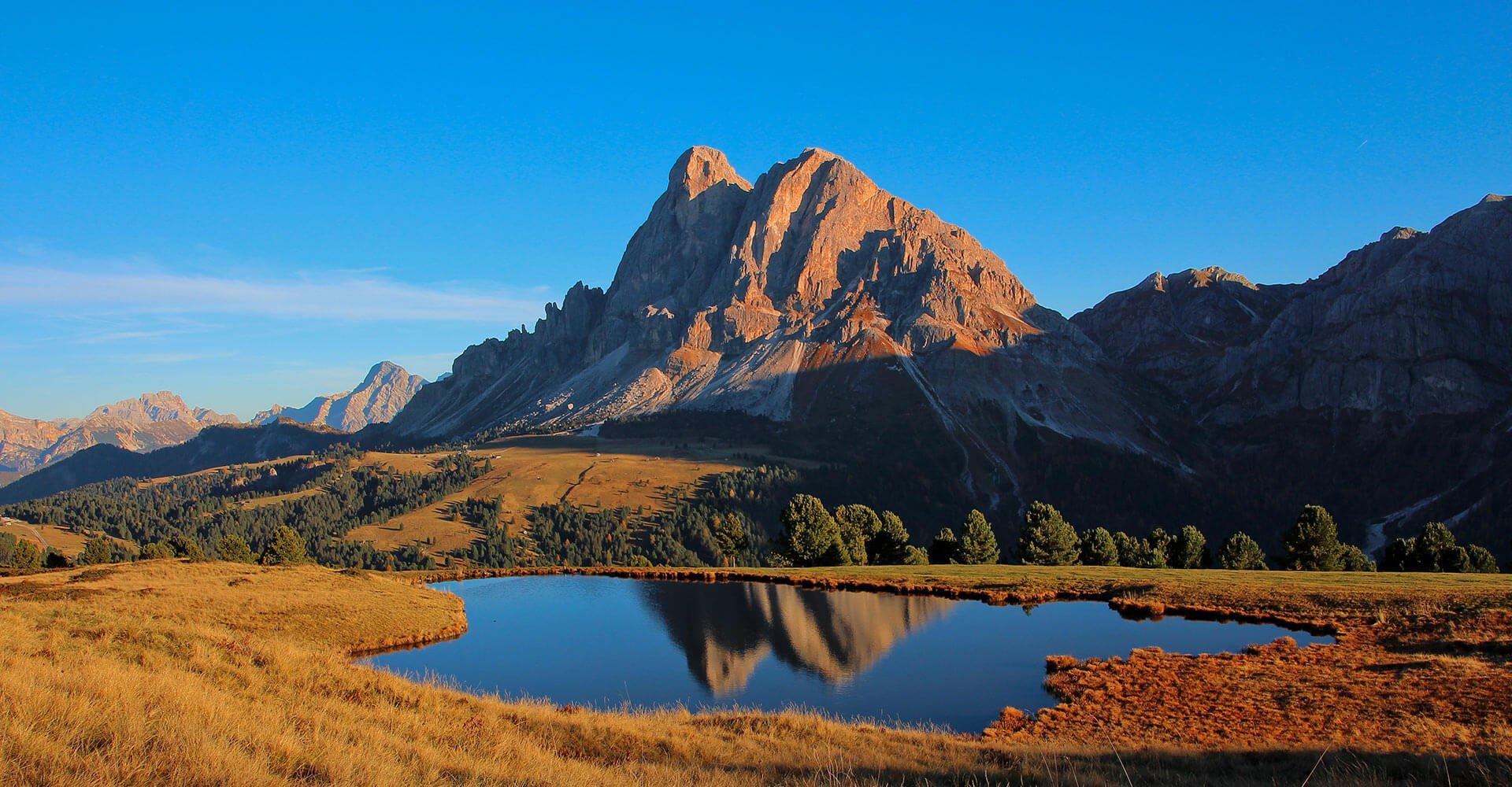 Feuerwerk der Farben - Herbsturlaub in Südtirol